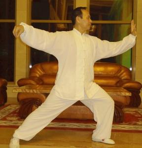 Il M° Wang Lian Fu del lignaggio di Yang Ban Hou