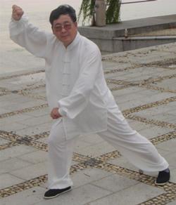 M° Ji A Dong dello stile Yang ospite della scuola nel 2006 e 2007