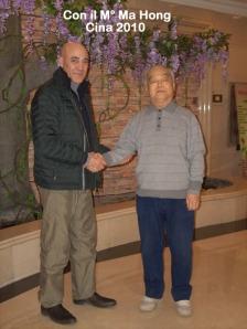 Cina 2010 con il M° Ma Hong