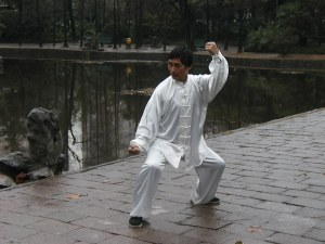 SHANGHAI 2004 M° JANG ZHONG BAO DEL TAIJI STILE CHEN