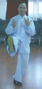 M° Wang Lian Fu del Taiji stile Yang del lignaggio di Yang Ban Hou
